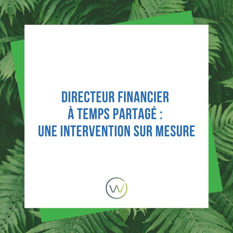 Article Directeurs Financiers à Temps Partagé : une intervention sur-mesure